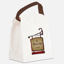 Jamie A. Malcolm Printer Canvas Lunch Bag