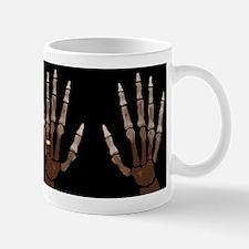 Hand Bones Mugs
