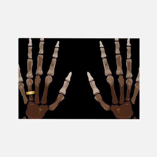 Hand Bones Magnets