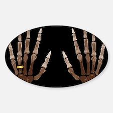 Hand Bones Decal