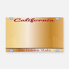 Unique California license Rectangle Car Magnet