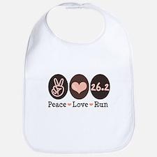 Peace Love Run 26.2 Marathon Bib