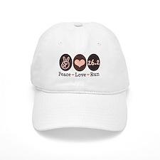 Peace Love Run 26.2 Marathon Hat