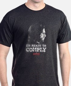 Bucky Ready to Comply - Captain Ameri T-Shirt