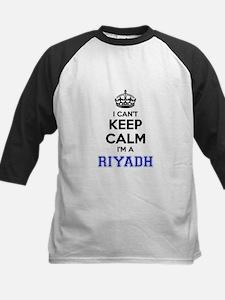 I can't keep calm Im RIYADH Baseball Jersey