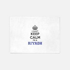 I can't keep calm Im RIYADH 5'x7'Area Rug