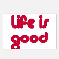 Life is Good Postcards (Package of 8)