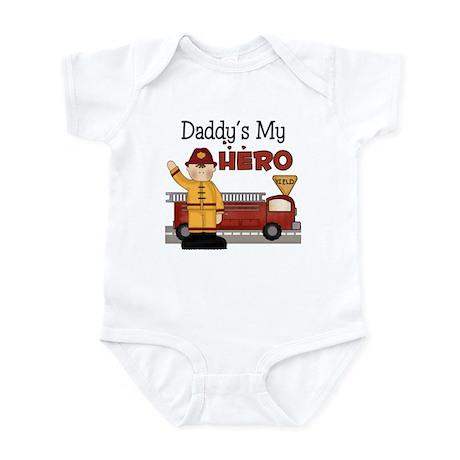 Daddy's My Hero Infant Bodysuit