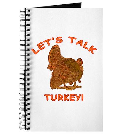 THANKSGIVING Lets Talk Turkey Journal