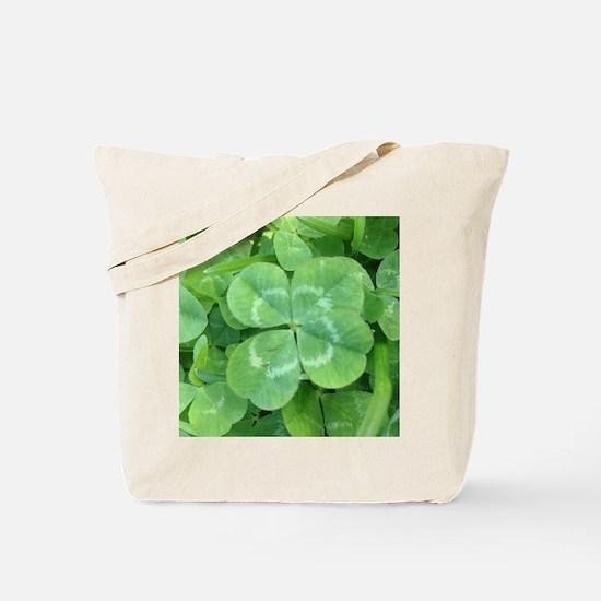 Unique Clover Tote Bag