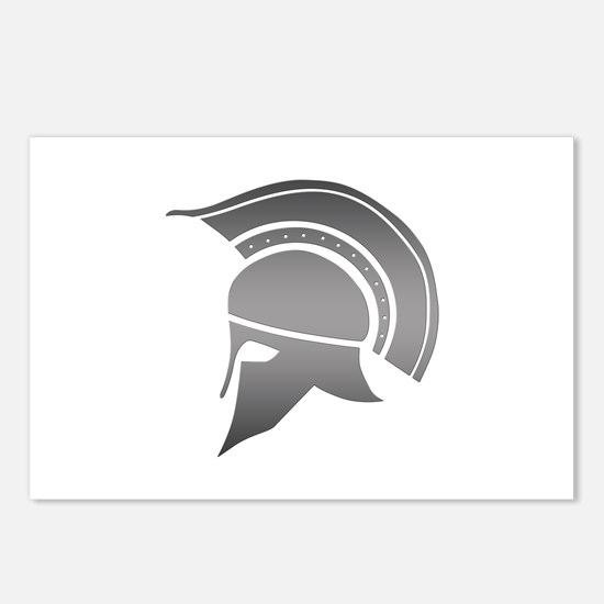 Ancient Greek Spartan Hel Postcards (Package of 8)