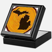 Cool Michigan state Keepsake Box