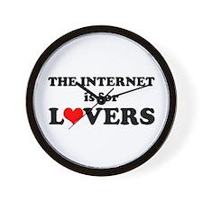 Internet Lover Wall Clock