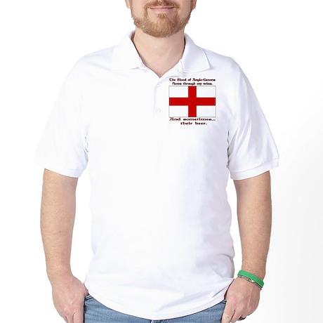 Anglo-Saxon Blood and Beer Golf Shirt