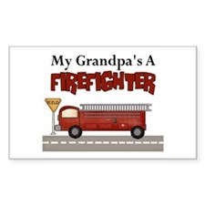 Grandpas A Firefighter Decal