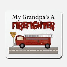 Grandpas A Firefighter Mousepad