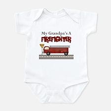 Grandpas A Firefighter Infant Bodysuit