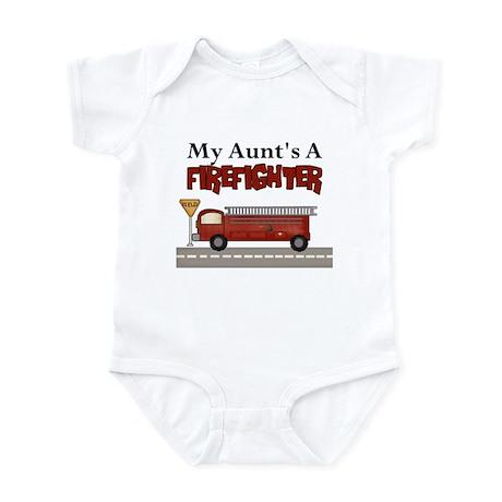 My Aunt's A Firefighter Infant Bodysuit