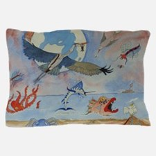 Cute Heron Pillow Case
