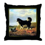 SPANIEL & NORFOLK Throw Pillow
