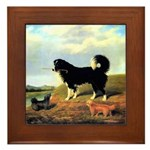 SPANIEL & NORFOLK Framed Tile