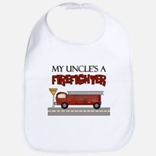 My Uncle's A Firefighter Bib