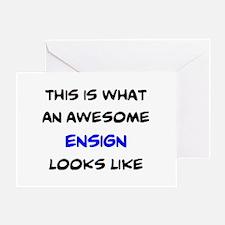 fantastic ensign Greeting Card