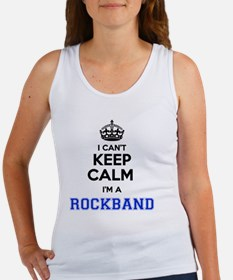 I can't keep calm Im ROCKBAND Tank Top