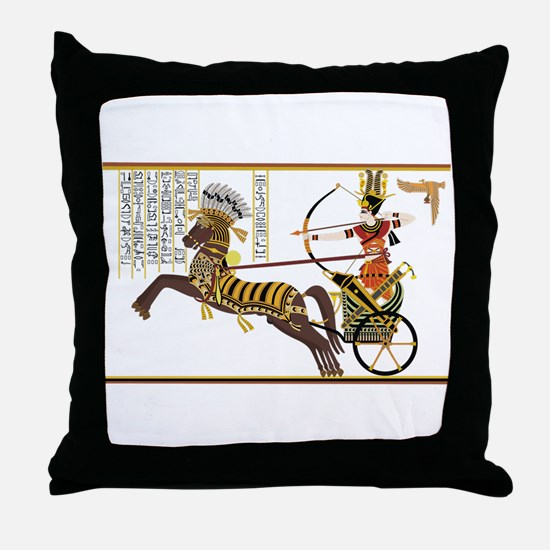 Ancient Egypt art Throw Pillow