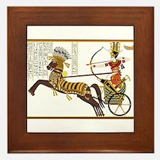 Ancient Egypt art Framed Tile