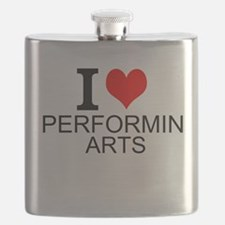 I Love Performing Arts Flask