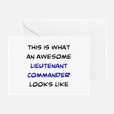 fantastic lieutenant commander Greeting Card