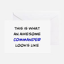fantastic commander Greeting Card