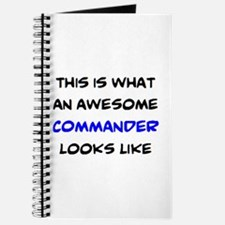 awesome commander Journal