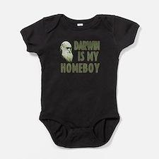Cute Homeboy Baby Bodysuit