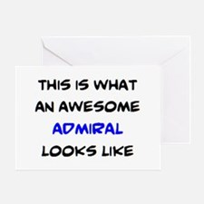 fantastic admiral Greeting Card