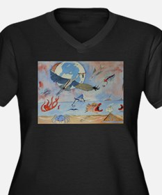 Flight of the heron Plus Size T-Shirt