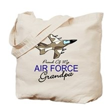 Air Force Grandpa Tote Bag