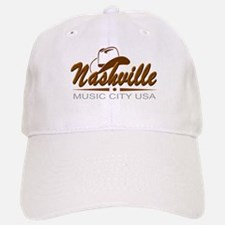 Nashville Music City USA-02 Baseball Baseball Baseball Cap