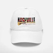 Nashville Music City USA Baseball Baseball Baseball Cap