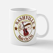 Nashville Music City USA-LT Mugs
