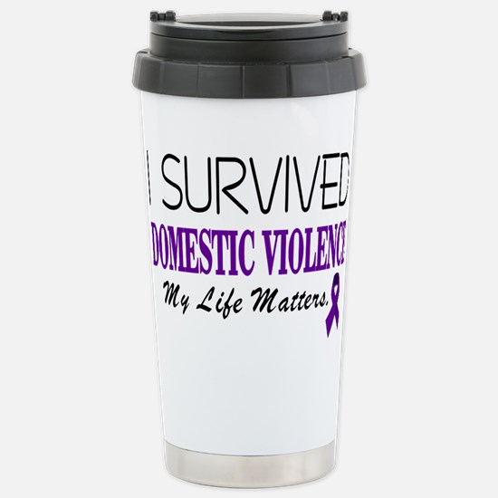 I Survived Domestic Violence-01 Travel Mug