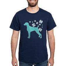 Weimaraner Snowflake T-Shirt