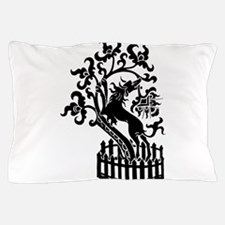 Dog and tree clip art Pillow Case