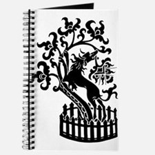 Dog and tree clip art Journal