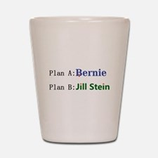 Plan B Shot Glass