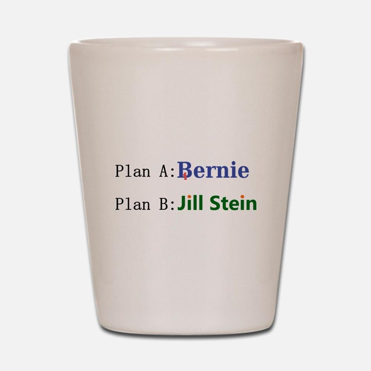 Plan B Shot Glass