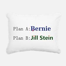 Plan B Rectangular Canvas Pillow