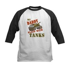 Daddy Plays with Tanks Tee