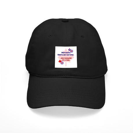 """US-CA Curling"" Black Cap"